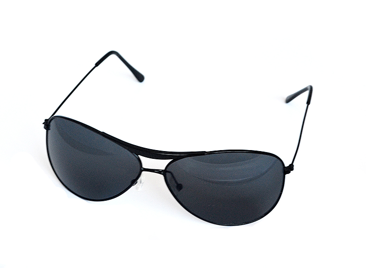 Slnečné okuliare čierne