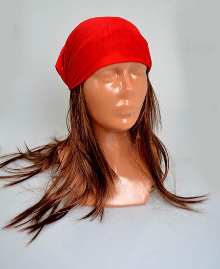 530a0bb47 Šatka do vlasov multifunkčná červená   Margaretkashop - Darčeky za ...
