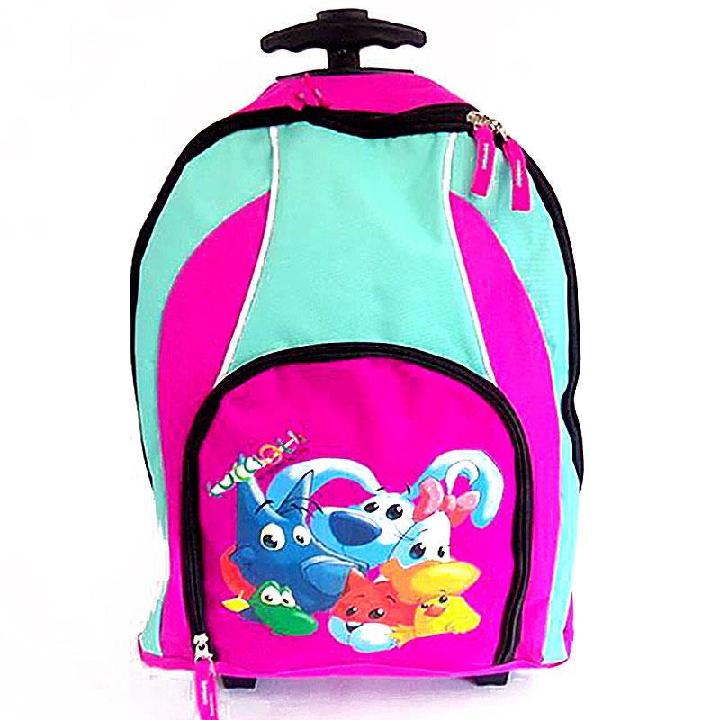 4f2813ef55 Školská taška na kolieskach Cuccioli