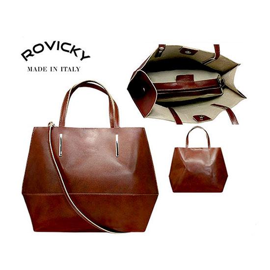 Kabelka kožená Rovicky TWR-45 Brown  0288b19862a