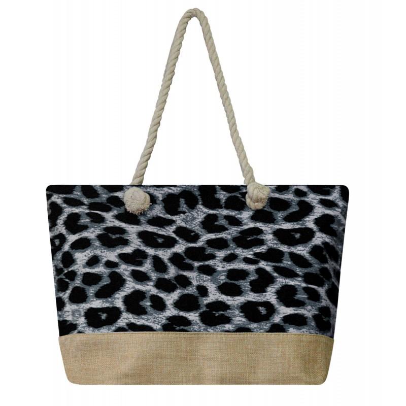 Plážová taška leopard
