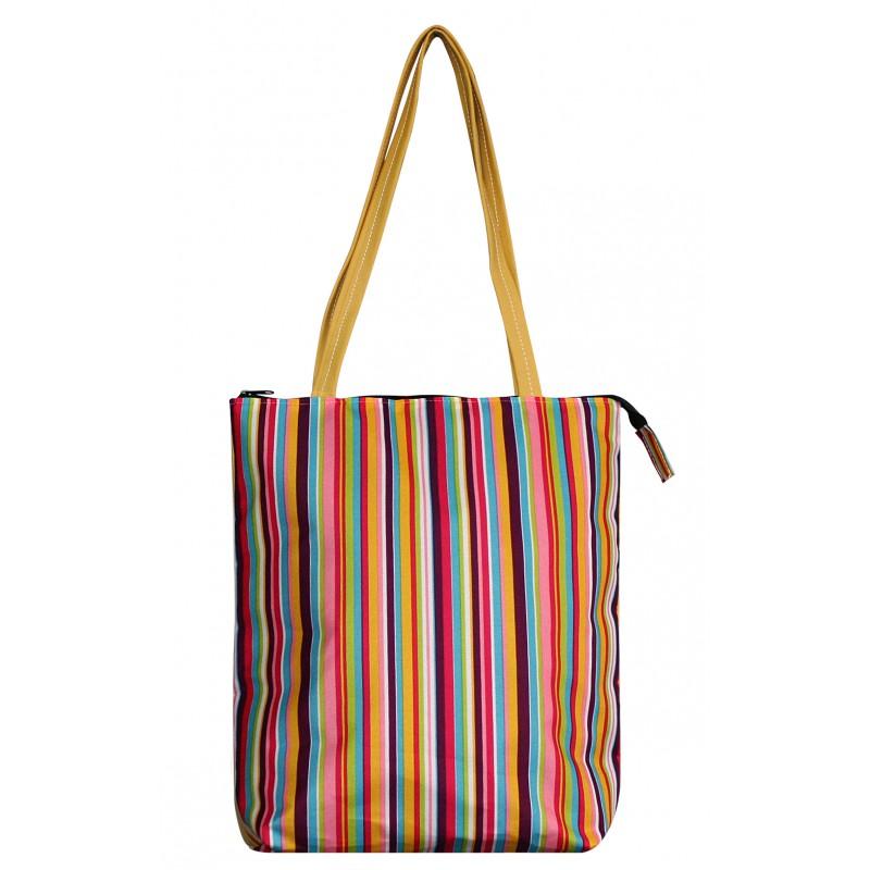 Plážová taška farebná