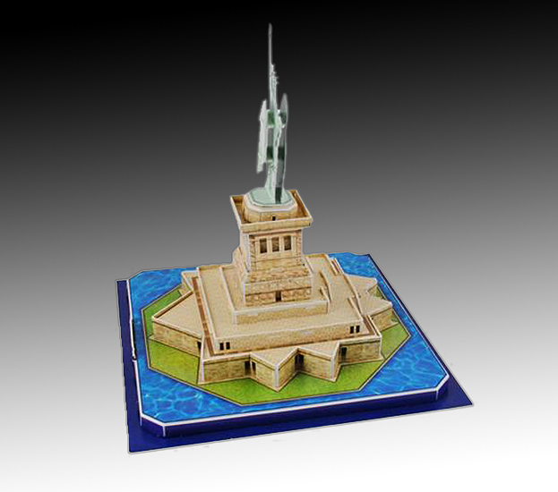 ed5646ed4 3D puzzle Socha Slobody   Margaretkashop - Darčeky za super ceny