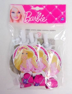 Trúbka Barbie (6ks)