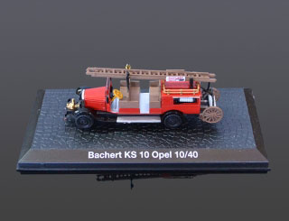 DeAgostini Model veterán Bachert KS 10 Opel 10/40 1:72