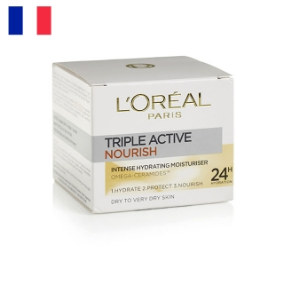 L´ORÉAL Hydratčný krém Triple Active Nourish 50ml